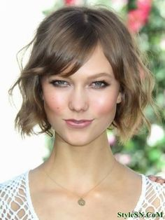 Neck Length Hairstyles 19 most popular bob hairstyles Very Cute Short Hairstyle I Love How Its More Undone I Think It Would
