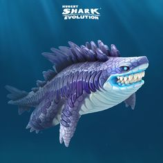 Rampage like never before with a new shark who walks on land, shoots lasers and crushes everything in its path! Fantasy Creatures, Mythical Creatures, Sea Creatures, Different Types Of Sharks, Monster Shark, All Sharks, New Shark, Cartoon Fish, Dungeons And Dragons Characters