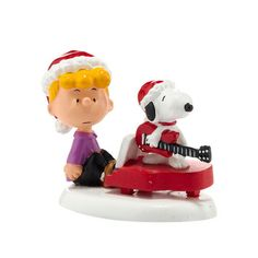 """Peanuts appeal to every generation with simple everyday wisdoms, wit, and unique perspective on life. Enduring icons like Snoopy and Charlie Brown, Peanuts has made an indelible mark on popular culture. From Department 56 - officially licensed by Peanuts Worldwide LLC®.  2 x 1.5 x 3""""<br><br>© Peanuts Worldwide LLC PEANUTS.COM"""