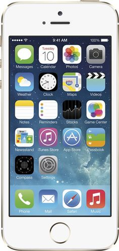 Boost Mobile - Apple iPhone 5s 4G LTE with 16GB Memory Prepaid Cell Phone with Account Credit - Silver