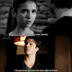 - — Elena makes Damon want to be a better man Vampire Diaries Memes, Vampire Diaries Wallpaper, Vampire Diaries The Originals, Series Movies, Tv Series, Elena Damon, Growing Old Together, Vampire Dairies, How To Apologize