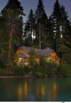 Картинки по запросу beautiful cabin in the woods
