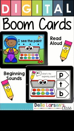 Guided Reading Level A. Use Boom Cards to teach emergent readers. Take your guided reading groups to the next level. Boom offers both video and sound to enhance your instruction. Perfect for special needs or ELL students that need extra intervention. The differentiation provided by the sound and video mean that every child can access the content. There are 6 decks that will support your work in literacy centers and word work centers. This resource is a perfect addition to your intervention… Kindergarten Freebies, Teaching Kindergarten, Teaching Kids, Abc Activities, Classroom Activities, Classroom Decor, Reading Groups, Guided Reading, Close Reading