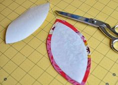 Appliqué with freezer paper and starch More