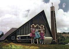 Kerk toe in die Valiant, 1978