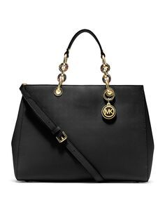 it has a lot of space and divisions inside, so you can bring all your stuff in side.Michael Kors Bag