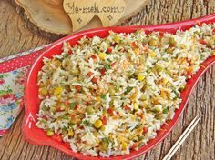 Chinese Salad (Rice Salad) Recipe | Recipes (From Turkish Cuisine) In English