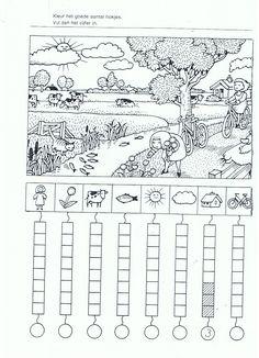 Werkblad tellen: boerderij