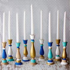 Make your menorah modern.