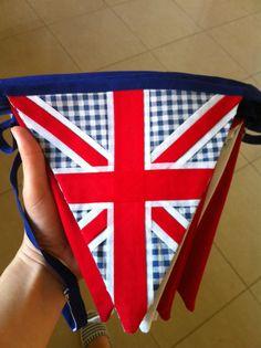 Union Jack bunting