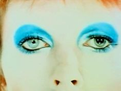 David Bowie's amazing eyes (he has Mydriasis - a condition where the pupil is always dilated)