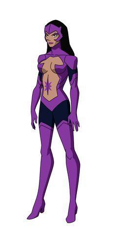 Zafiro Estrella versión universo animado dc - DC Cómics