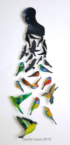 "Saatchi Art Artist Cecilia Lueza; Sculpture, ""Elevate III"" #art"