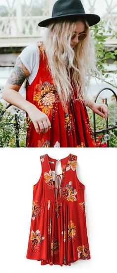 A Hippie Floral Dress as featured on Pasaboho. ❤️  We Love boho style and Free Spirit Fashion Trend hippie girls sharing woman outfit ideas. *Available for wholesale :: bohemian clothes, cute dresses and skirts. Fashion trend and styles from hippie chic, modern vintage, gypsy style, boho chic, hmong ethnic, street style, geometric and floral outfits. - The latest in Bohemian Fashion! These literally go vir