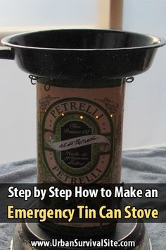 Not only are tin can stoves an awesome way to repurpose some tin cans, they're an exercise in inventiveness and creativity.
