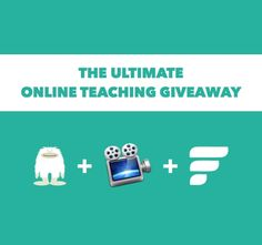 Anyone who wants to teach online should enter The Ultimate Online Teaching Giveaway and build their online school with useFedora. It's been the best decision I ever made about my education career.