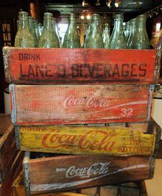 Vintage Coca-Cola Cases