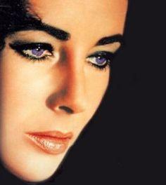 yeux violet