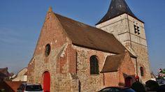 Eglise à LABOURSE Pas de calais.