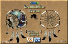 Sims 4 CC's - The Best: Dreamcatcher by Asylaraber02