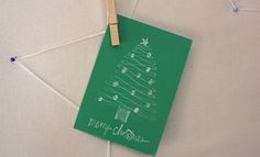Paper Craft Ideas! Calligraphy Tree Card for Kids