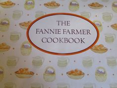 I recently ran across The Fannie Farmer Cookbook in an antique store. This book was originally published in 1896. Fannie Farmer's name is still well-known today. Stock, water enriched by the food c…