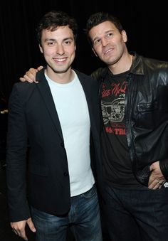 John Francis Daley and David Boreanaz