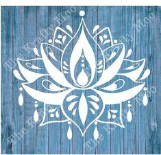 Stencil Mylar 125 mic Mandala Bargain Bundle Wall Fabric Furniture Painting x 3