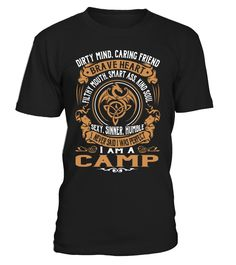 CAMP Brave Heart Last Name T-Shirt #Camp