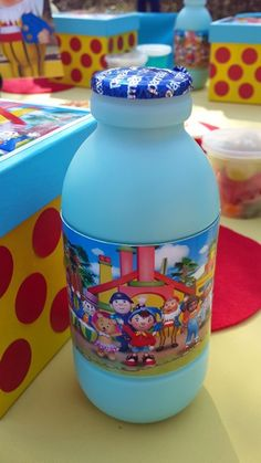 Blue Bubblegum Milk with Noddy Label 1st Birthday Parties, Birthday Ideas, Bubble Gum, Cake Ideas, Special Occasion, Birthdays, Label, Milk, Cooking Recipes