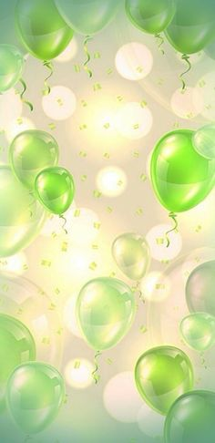 Green Wallpaper, More Wallpaper, Locked Wallpaper, Cellphone Wallpaper, Flower Wallpaper, Wallpaper Backgrounds, Iphone Wallpaper, Birthday Background Wallpaper, Balloon Background