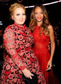 Adele & Rihanna.