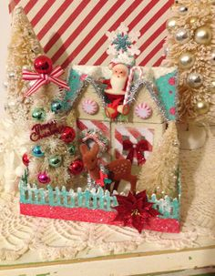 Thank you Yaz! My beautiful sister sent me this for my Christmas décor! You can find Yaz modeling Vintage Style at www.instagram@crazy4me.com