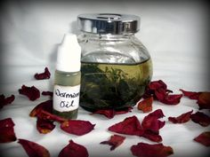 Wormwood Herb Infused Oil Absinthe psychic visions by RedCatt