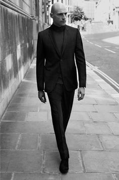 Mark Strong by Laurence Ellis for MR PORTER