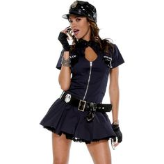 Police Playmate Sexy Cop Costume by Forplay Navy Blue XS/S  sc 1 st  Pinterest & Wholesale Fashion Deep V Sexy police women costume role playing Cop ...