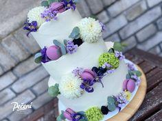 Jak sestavit patrový dort - Víkendové pečení Cake Designs, Cheesecake, Cupcakes, Fruit, Food, Health, Mascarpone, Cupcake Cakes, Health Care