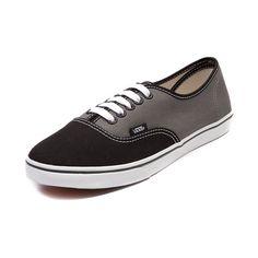 Vans Authentic Lo Pro Skate Shoe, Black Grey | Journeys Shoes