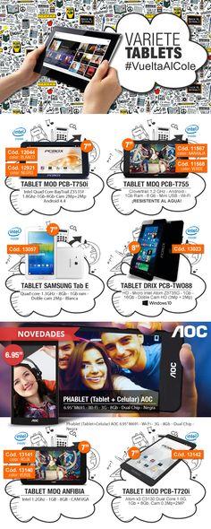 #Tablets PCBOX Argentina & AOC  www.gvinformatica.com.ar #Olivos_VL #FloridaEsteVL #VecinosVL