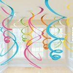 Swirl Decoratie Multi Color