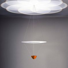 Fresnel chandelier  by Troika