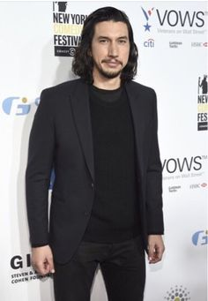 nonibear11 Adam Driver attends the 10th Annual Stand Up for Heroes Event and again loves wearing all black…  https://instagram.com/p/BMTn82nBIb1/