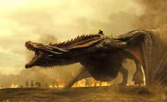 Via Entertainment Weekly, HBO has released seven new promotional stills for Game of Thrones, a number representative of the show's 7th season.  With the new photos, fans can see  a fully-grown Drogon ready to roar into in battle with Daenerys Targaryen sitting astride her monstrous pet. They can also catch new looks at the Stark family, including Jon Snow, Arya, and Sansa, who are heavily rumored to be reuniting this season after years apart.  Behind-the-scenes photos also tease Cersei…
