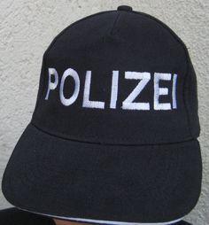 Basecap  Freizeitmütze Mütze BGS Polizei Bundespolizei Einsatzmütze parisblau