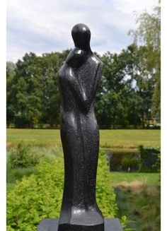 Abstract Beeld Devotion 60 cm Modern Art Sculpture, Sculpture Clay, Sculptures, Garden Statues, Stone Carving, Clay Art, Installation Art, Wood Art, Sculpting