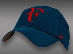 roger federer cap navy red letters - Google Search