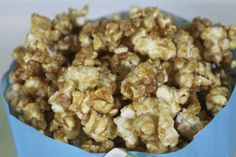 Microwave Salted Caramel Corn by thecafesucrefarine #Popcorn #Salted_Caramel #thecafesucrefarine