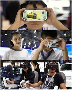 #VR 's presence not girls was the main attraction at the recent #Beijing #autoshow - with the ban on car show #girls  car manufacturers seek other forms of attraction to draw in the crowd.   #virtualreality #news #china #北京 #googlecardboard #gearvr #samsung #volkswagen #smart #cars #automotive by ximmerse - Shop VR at VirtualRealityDen.com