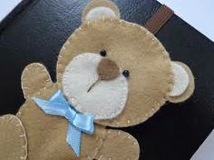 Teddy bookmark
