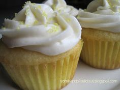 Some Kind of Delicious: Lemon Cupcakes Perfected